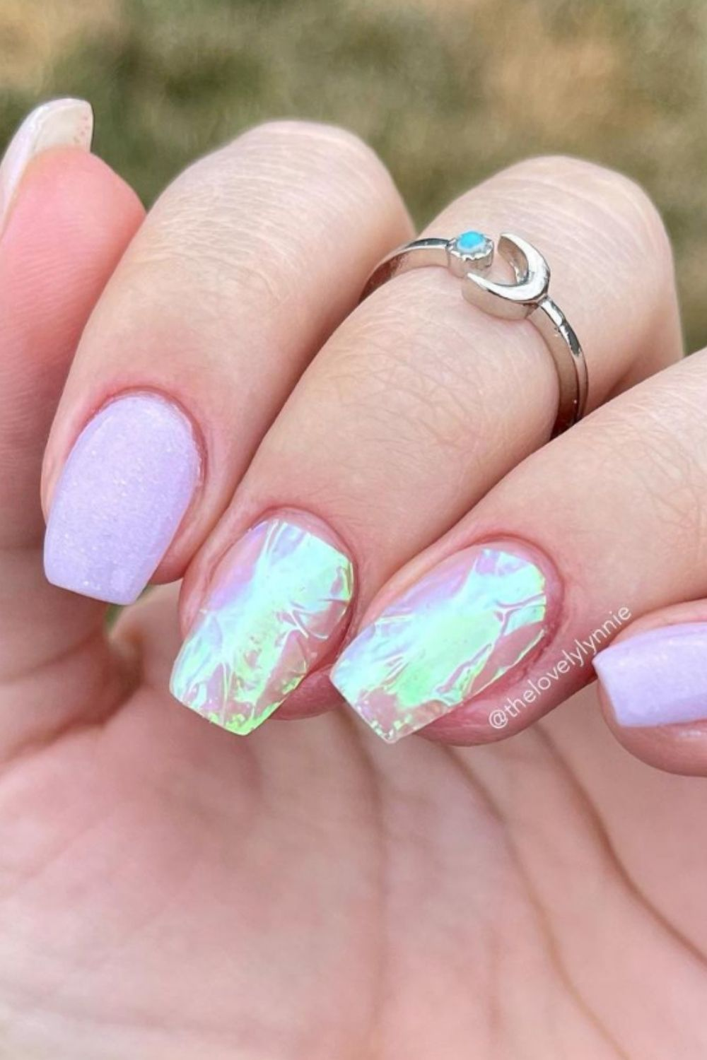 40 Awesome Acrylic Short Square Nails To Inspire you in Summer!