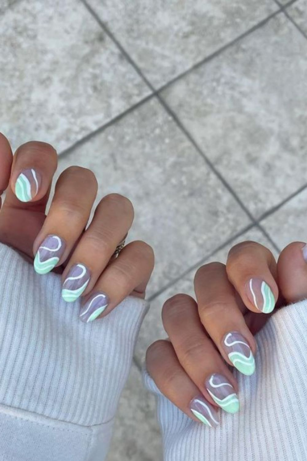 Green Nails: 40 Best Nail Ideas For Summer Nails Colors!