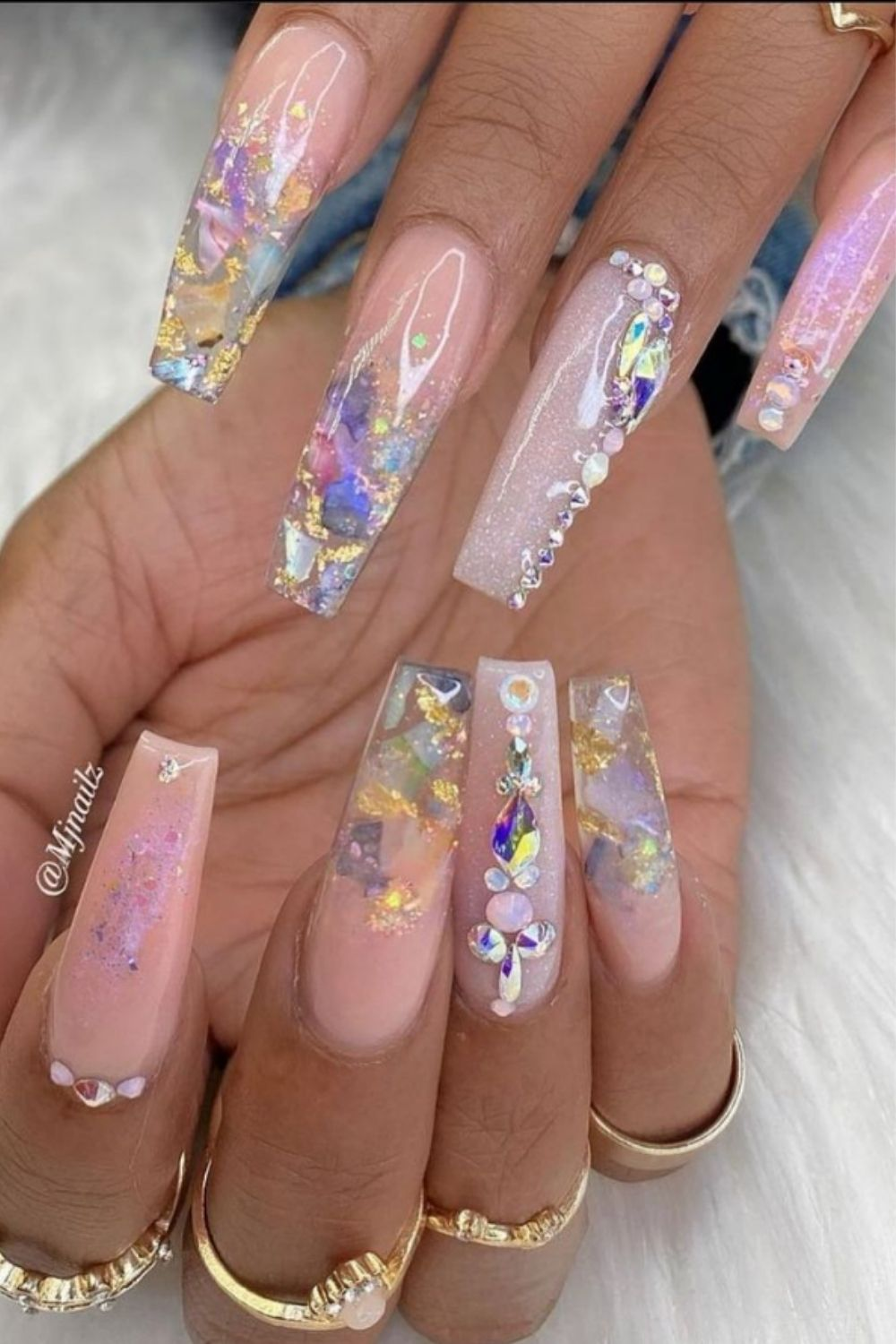 How to make your glitter ombre nails bling this Summer 2021?