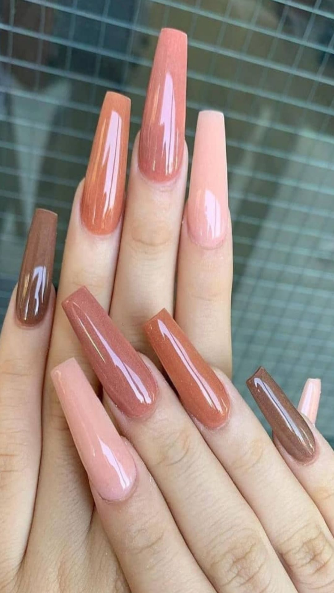 30 + Best colored acrylic nails to accompany you through summer