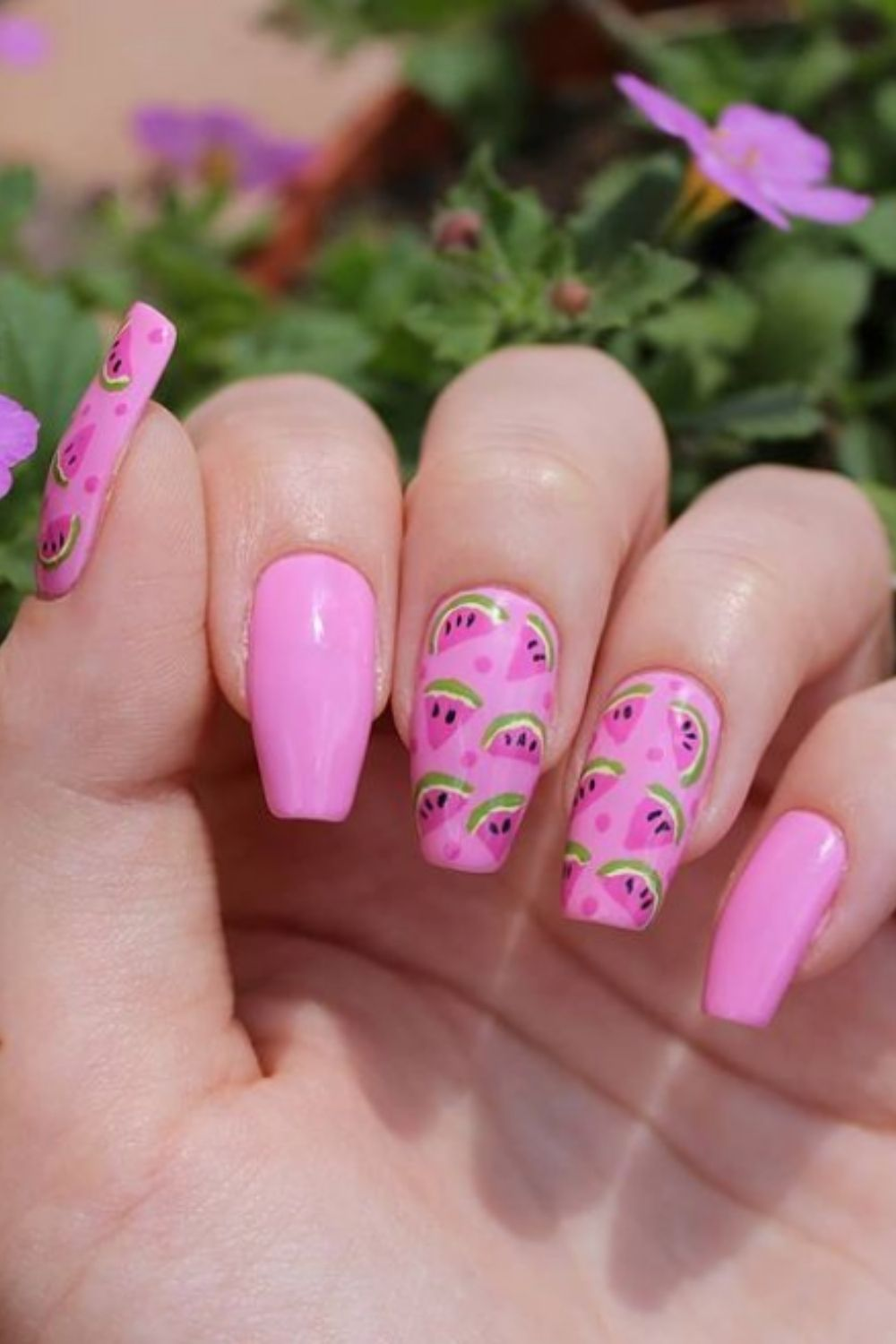30+ Chic short acrylic nails to try in summer 2021