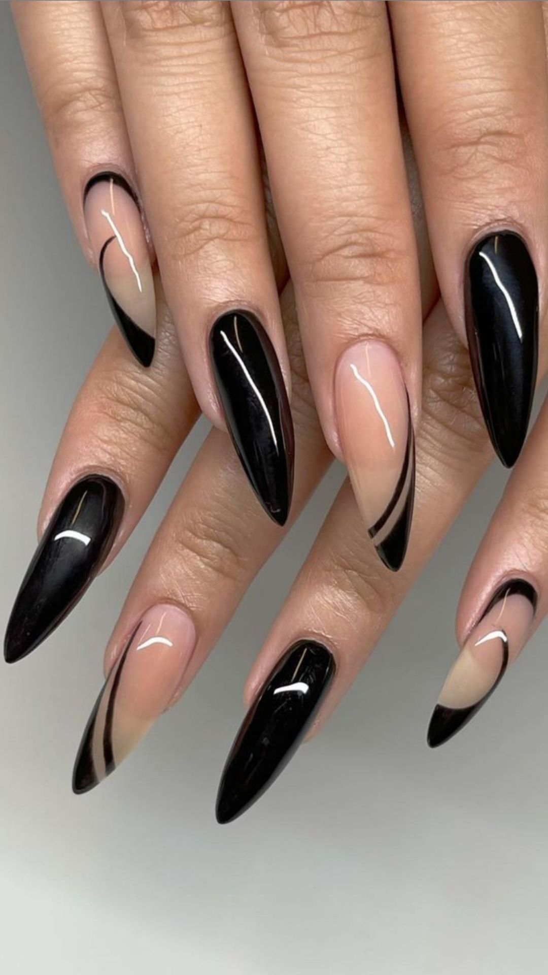 Alluring black acrylic nails ideas to try now